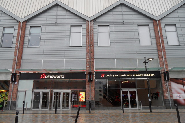 Cineworld Cinema - Gloucester Quays