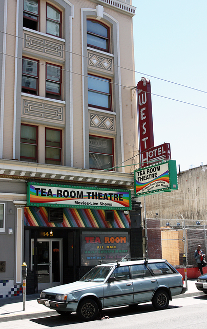 Tea Room Theatre, San Francisco, CA