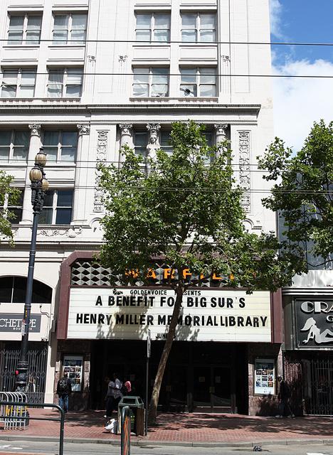 Warfield Theatre, San Francisco, CA