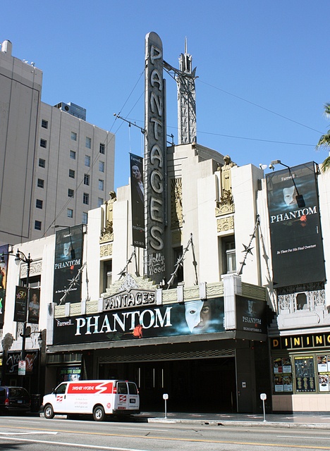 Pantages Theatre, Los Angeles, CA