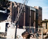 ABC Blackheath (side view) during demolition
