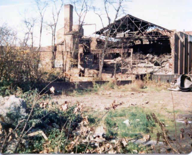 ABC Blackheath (rear view) during demolition