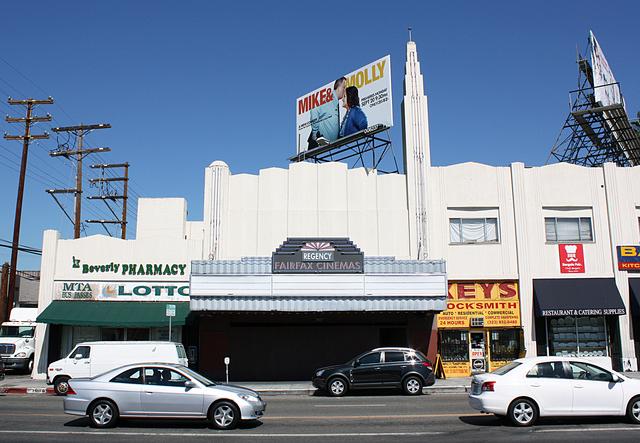 Fairfax Cinemas, Los Angeles, CA
