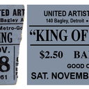 Reserved ticket for King of Kings