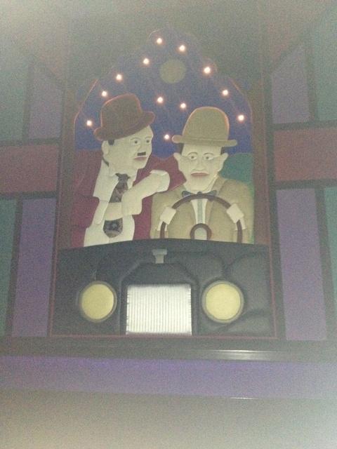 Theater 3 Mural 2 - Laurel & Hardy