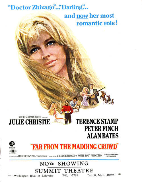 Movie ad for Far From the Madding Crowd
