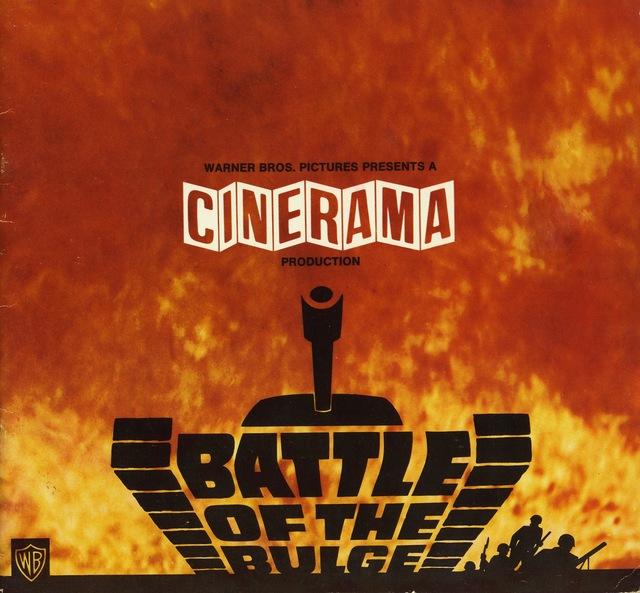 Movie program Battle of the Bulge