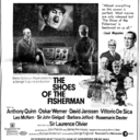 Reserved seat ad for The Shoes of the Fisherman
