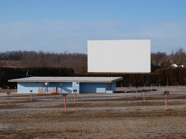 Bourbon drive in in paris ky cinema treasures for Drive in movie theaters still open
