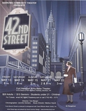 42nd St Poster