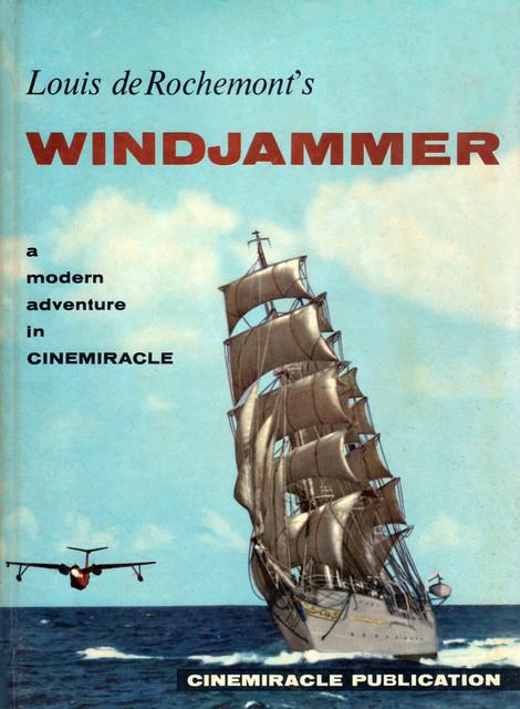 Souvenir movie program for Windjammer