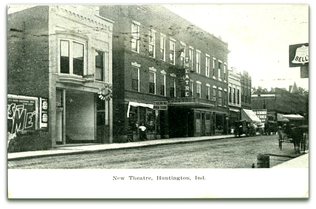 New Theatre Huntington ID / Billy Holcomb Collection