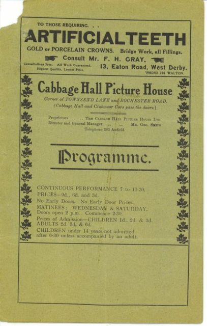 Cabbage Hall Picture House