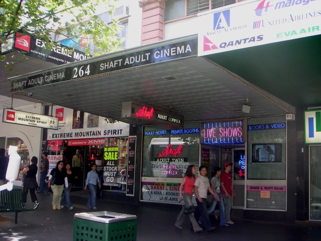 Shaft Adult Cinema