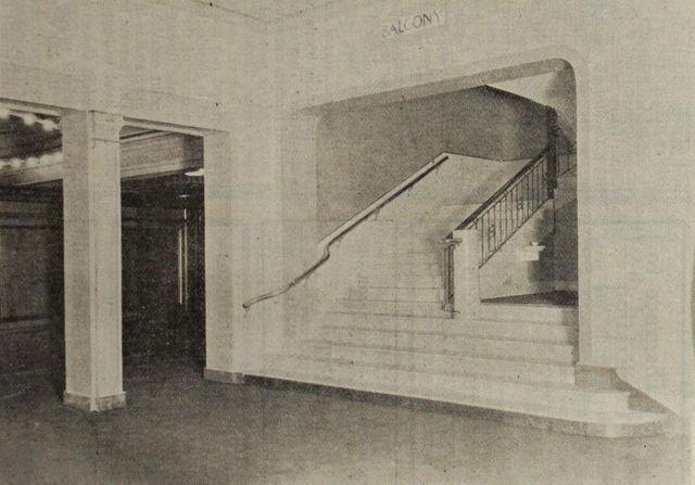 Stairway, Colorado Theatre, Denver, 1922