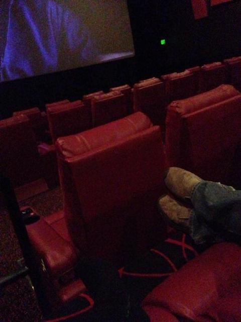 New AMC Framingham 16 reclining seat