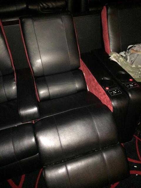 New  seats at amc empire 25