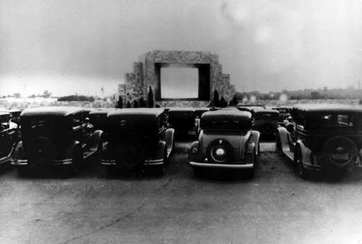 CAMDEN DRIVE-IN Automobile Theatre; Camden, New Jersey.
