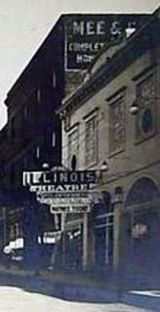 ILLINOIS (RIO) Theatre; Chicago Heights, Illinois.