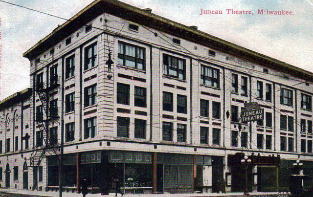 JUNEAU Theatre; Milwaukee, Wisconsin.