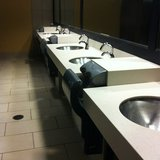 <p>New restroom sinks</p>