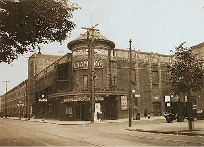 Alhambra Theatre May 1925