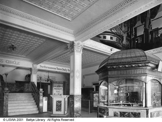 Prince of Wales Theatre lobby