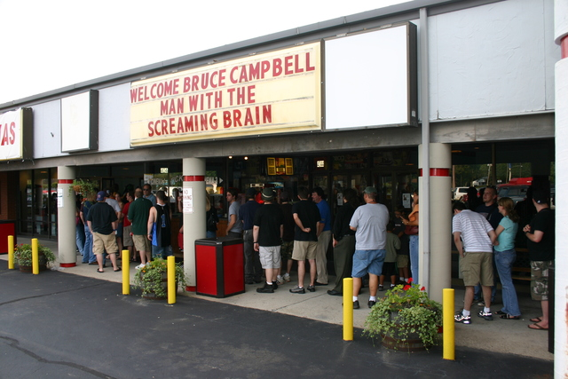 Key Cinemas Bruce Campbell Premiere