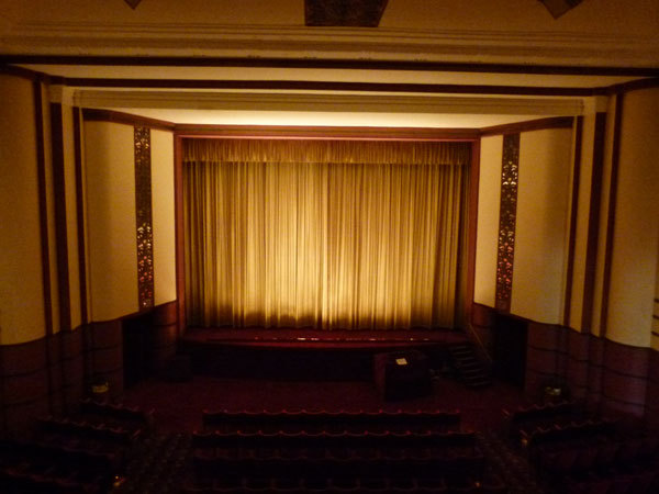 Cygnet Theatre curtain