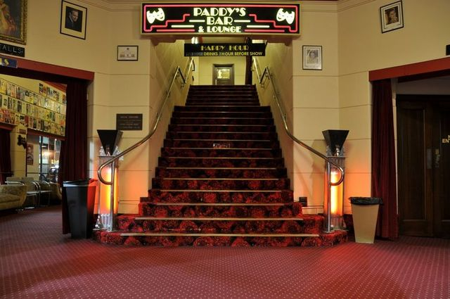 Regal Theatre lobby and staircase
