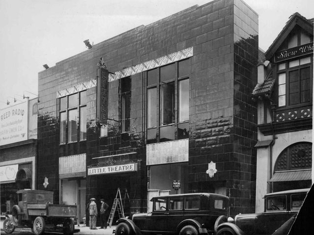 Little Theatre in 1929