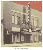 The Little Theatre in 1949