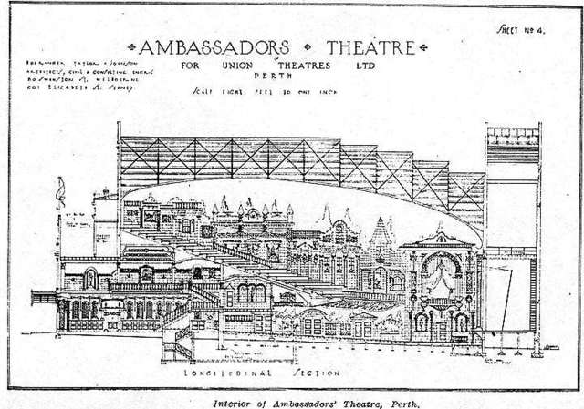 Ambassabors architectural cross section