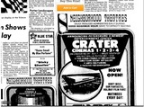 December 1979 Crater Cinema Opens!