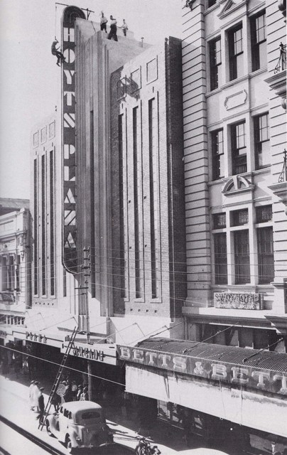 Plaza Theatre - nearing completion in 1937