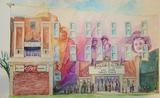 Capitol mural