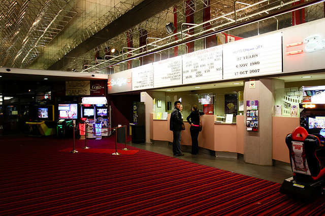 Cinema City ticket counter