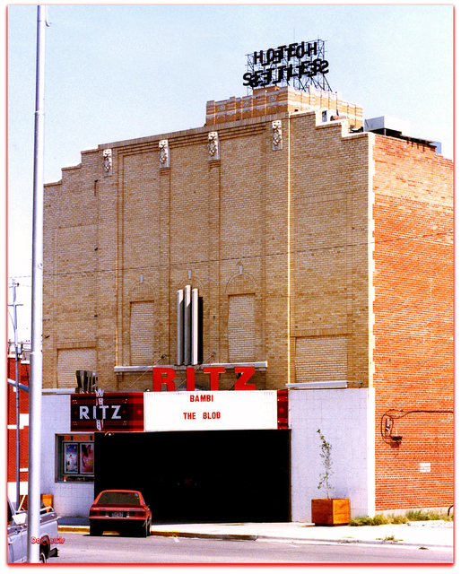 Ritz Theater Big Spring TX / Don Lewis / Billy Smith 