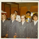 <p>Usherettes from 1972 reopening of the Milton, PA Capitol Theatre.</p>