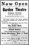 Movie Bill Display Ad - 1914-10-22 Leader-Observer