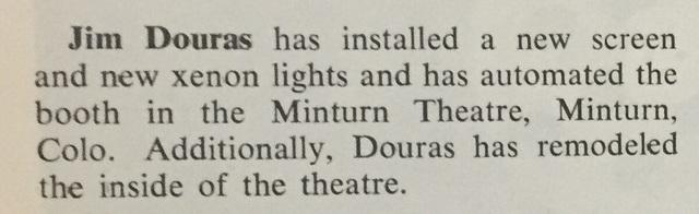 Minturn Theater
