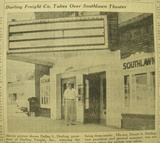 1954 newspaper article - Southlawn bought for office