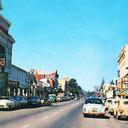 Roxy Theatre 1950's Postcard View