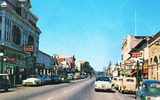 Roxy Theatre 1950's Postcard View