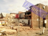 photo or demolition of Henry's formally ABC