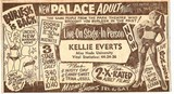 A Vindicator newspaper ad for the theater.