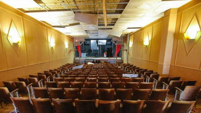 CIVIC Theatre; Pretty Prairie, Kansas.