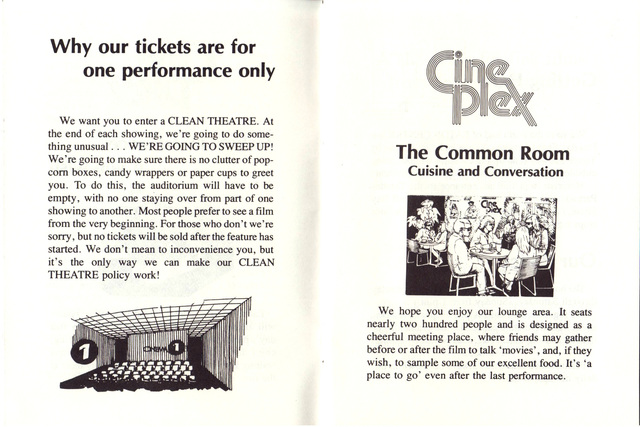 Grand Opening Souvenir Booklet April 1979