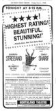 Newspaper ad for Funny Girl Reserved seats