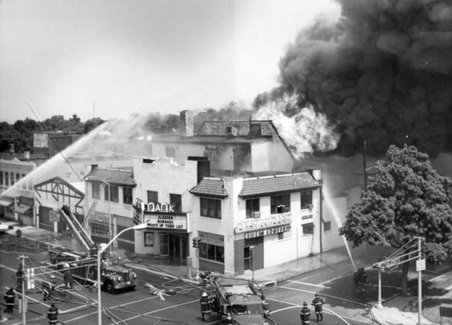 Park Theater Fire, July 1974